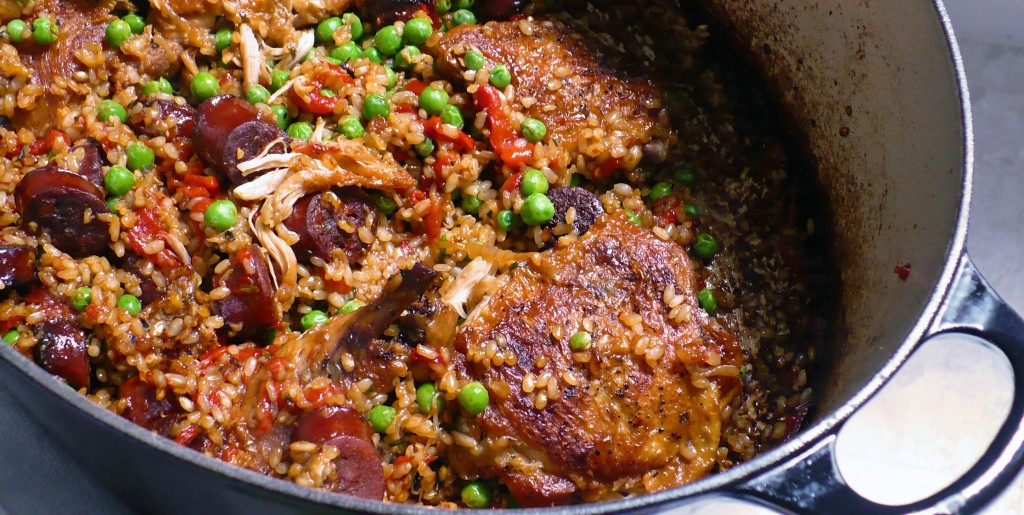 BEST FOOD RECIPES: Arroz Con Pollo