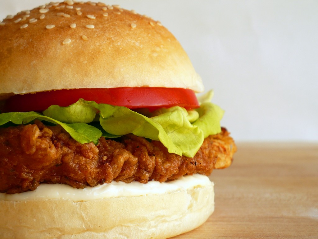 Spicy Chicken Sandwich Vibrant