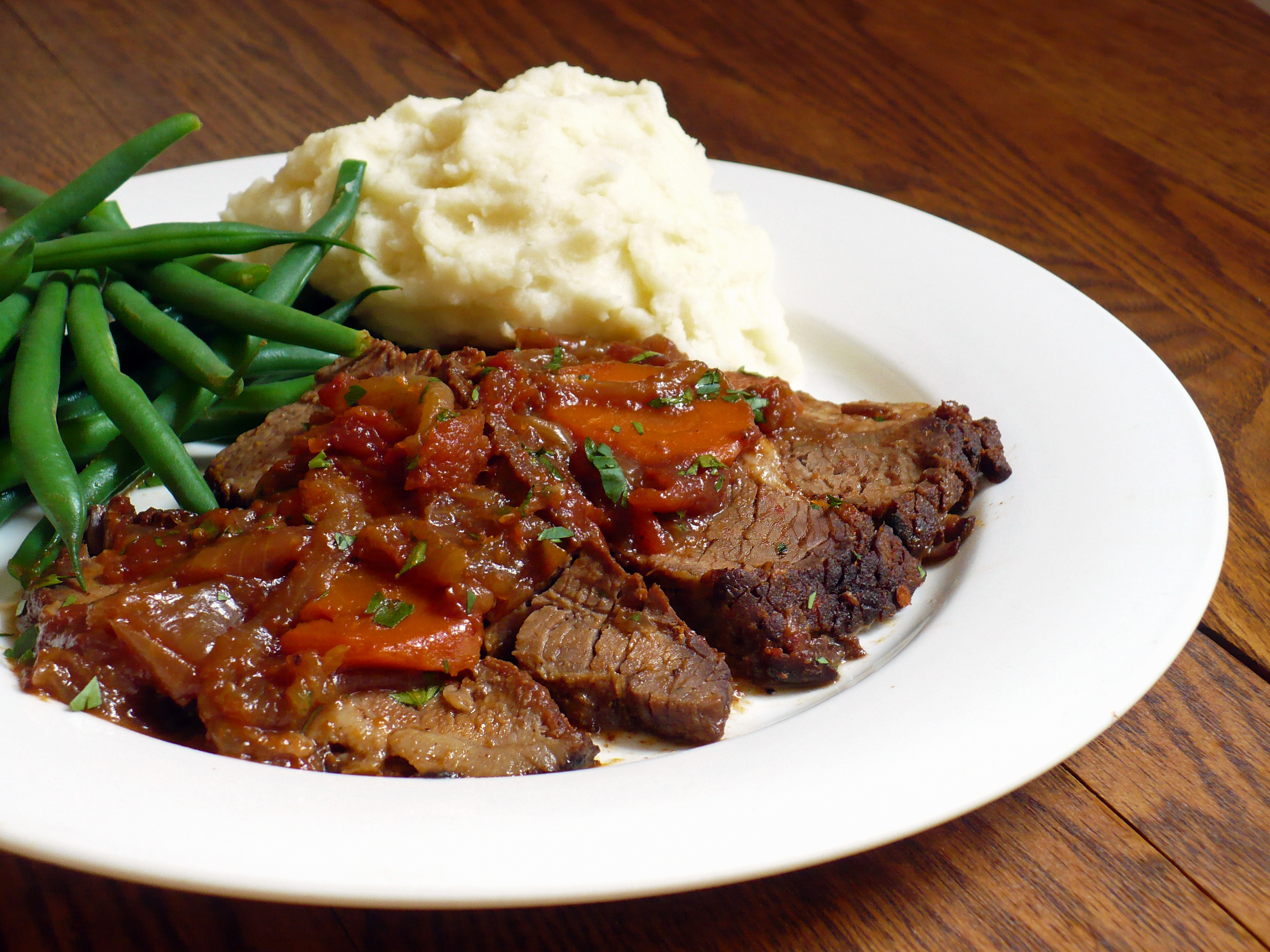 Coca-Cola Braised Beef Brisket | Food.People.Want
