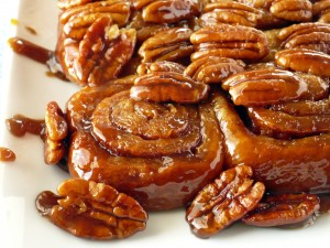Pecan Honey Sticky Buns 1