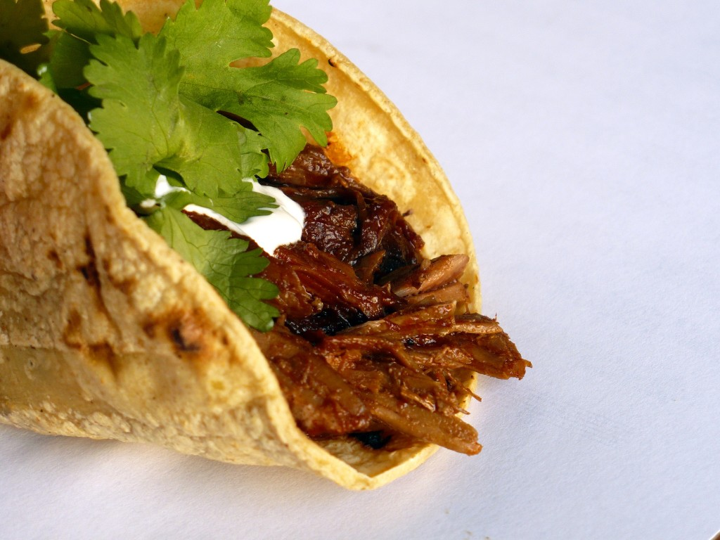 Chile-Braised Pork Tacos