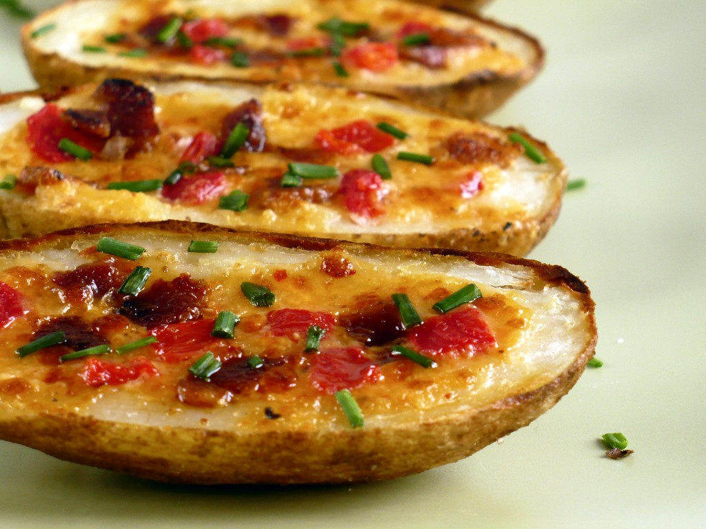 Pimento Cheese Potato Skins