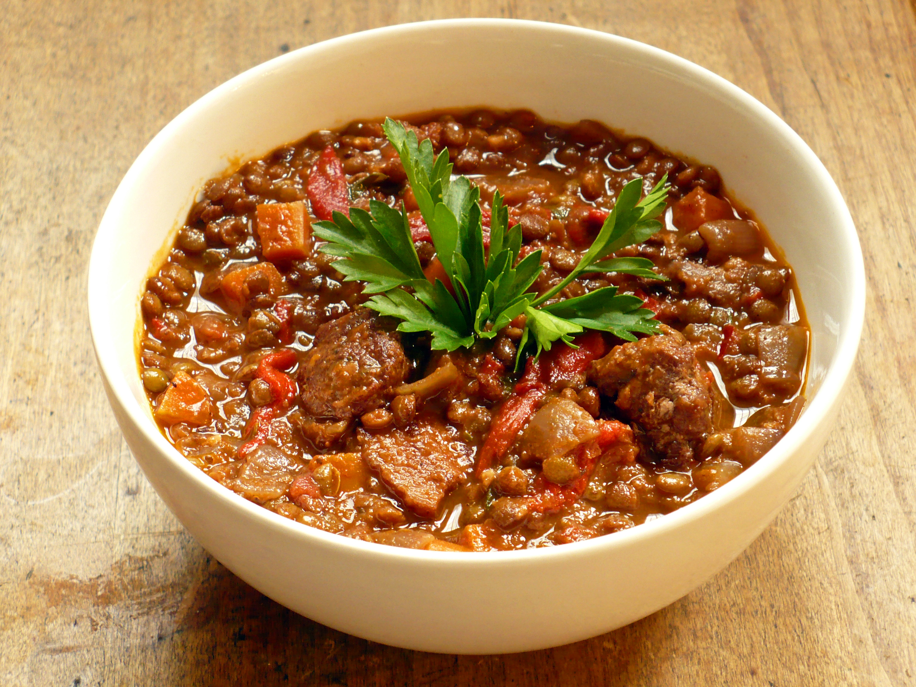 Lentil Stew With Sausage Recipes Dishmaps