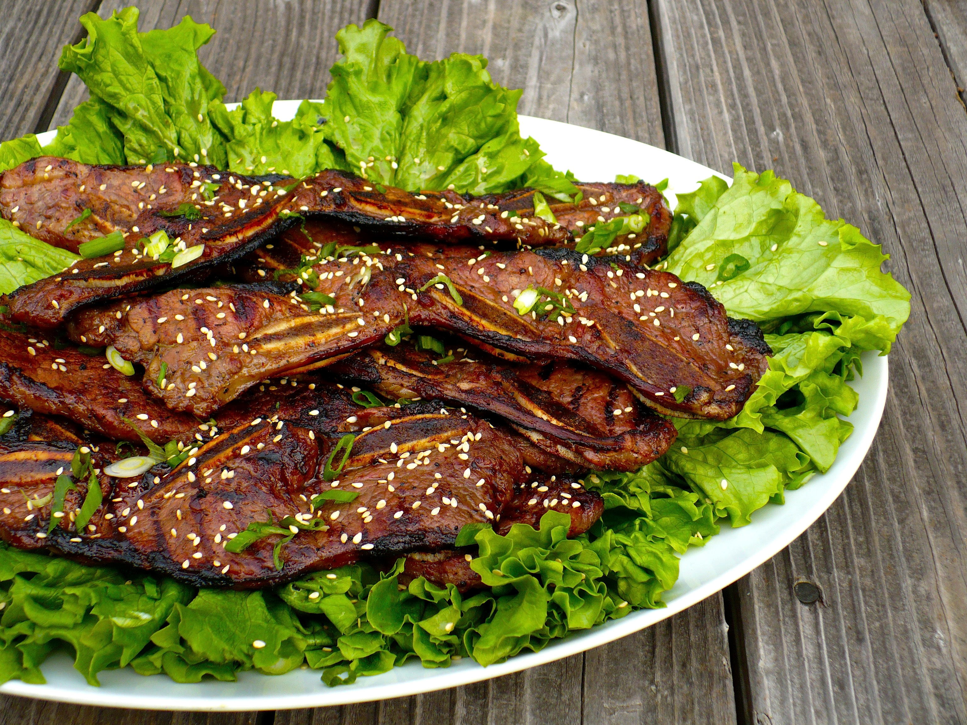 Kalbi (Korean BBQ Beef Short Ribs) Recipe — Dishmaps