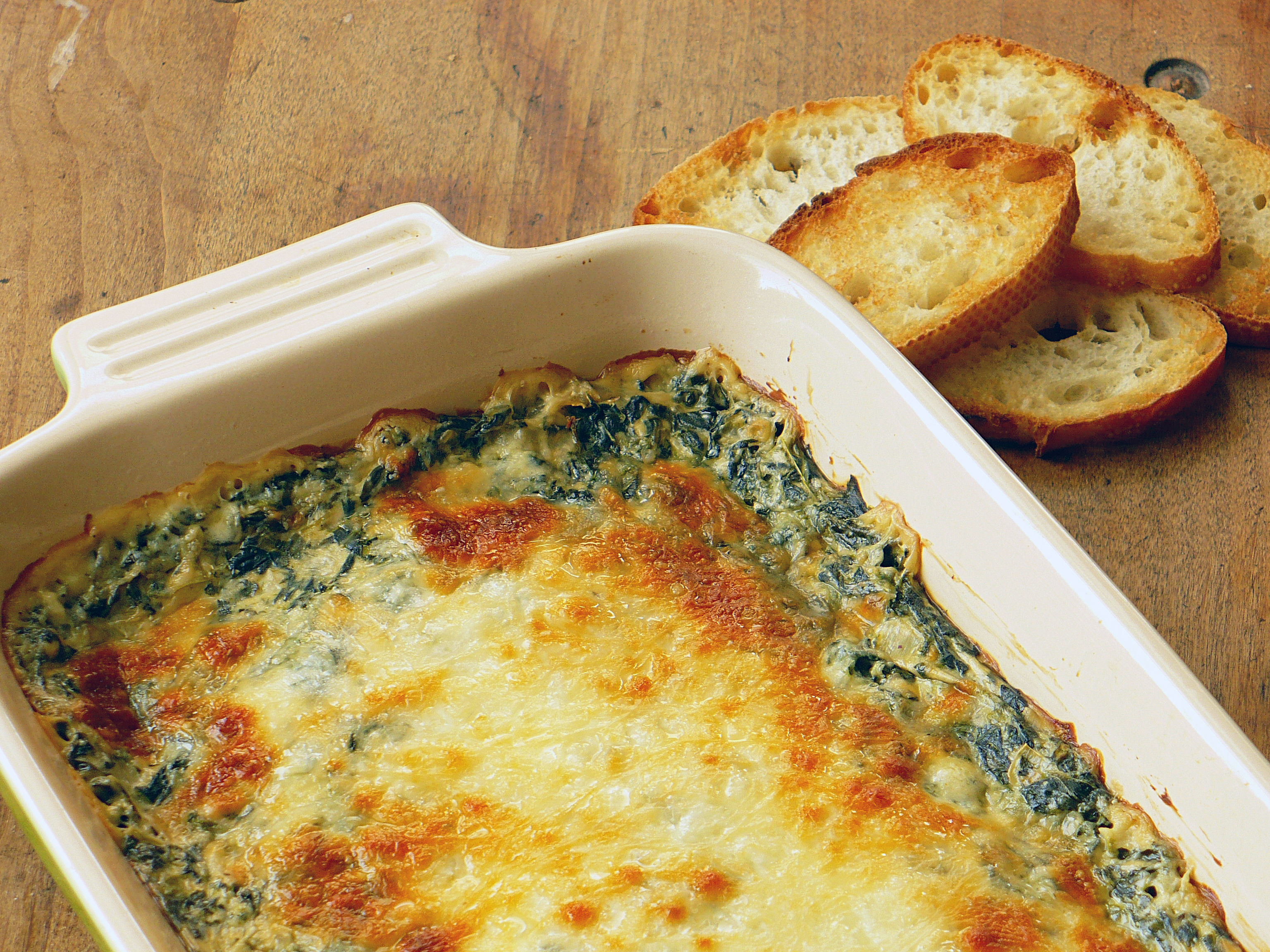 HOT SPINACH DIP | Food.People.Want